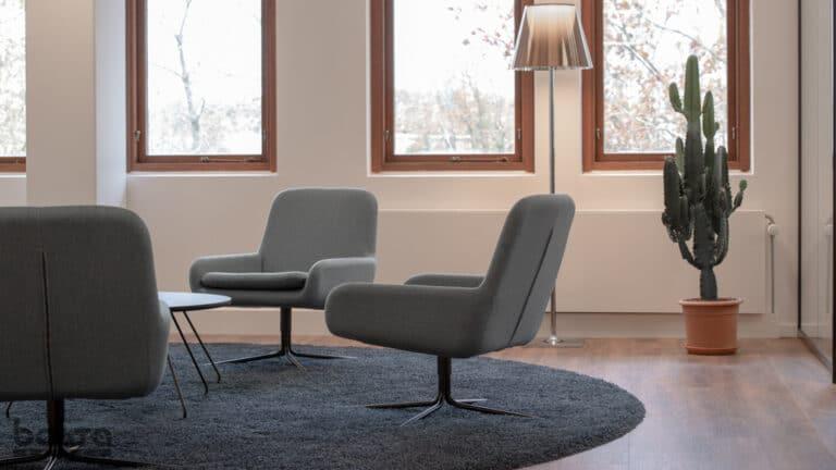 Softline lounge lænestol