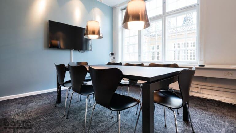 Mødelokale indretning